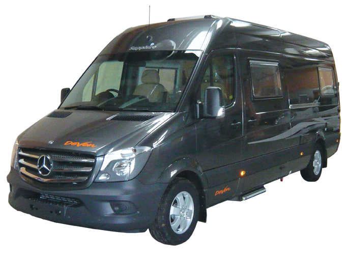 New motorhomes devon conversions for Devon mercedes benz