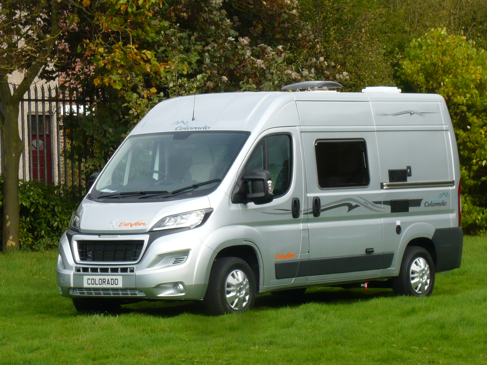 Devon Colorado Twin - 2 berth 4 belted seats